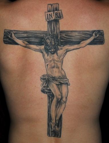 Tatuagens de cruzes e símbolos cristãos (47)