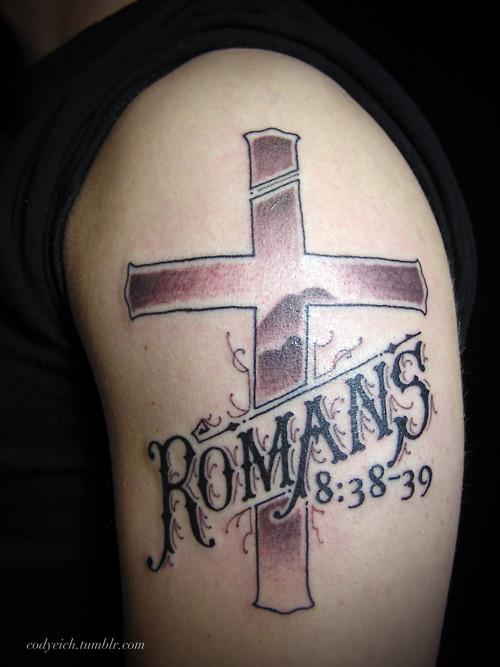 Tatuagens de cruzes e símbolos cristãos (29)