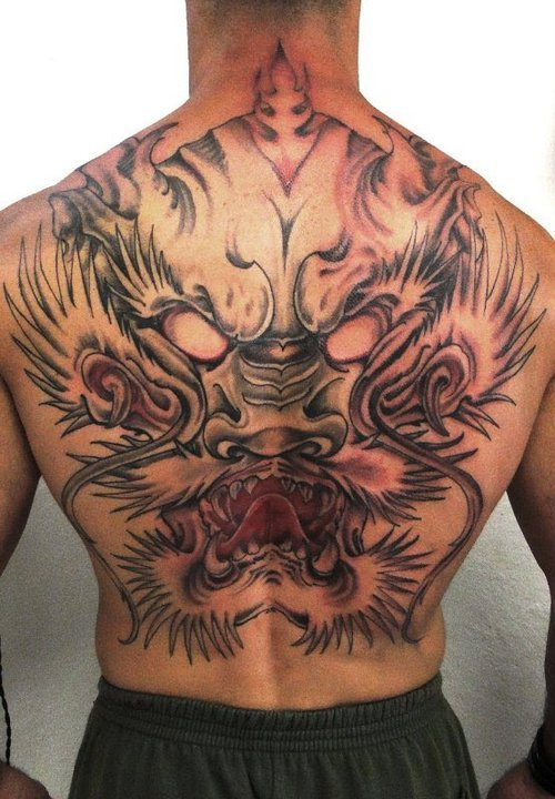 Gragon Tattoo (5)