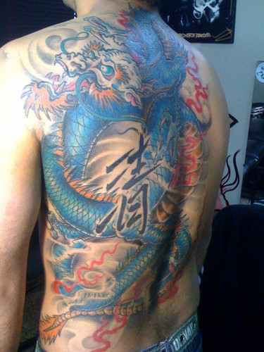 Gragon Tattoo (2)