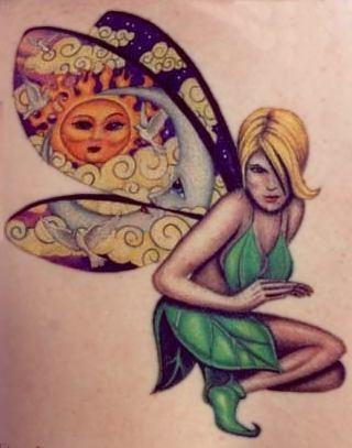 Tatuagens de Fadas (3)
