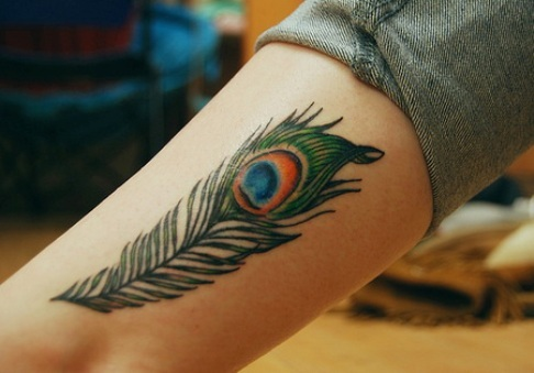 Peacock Tattoo (46)