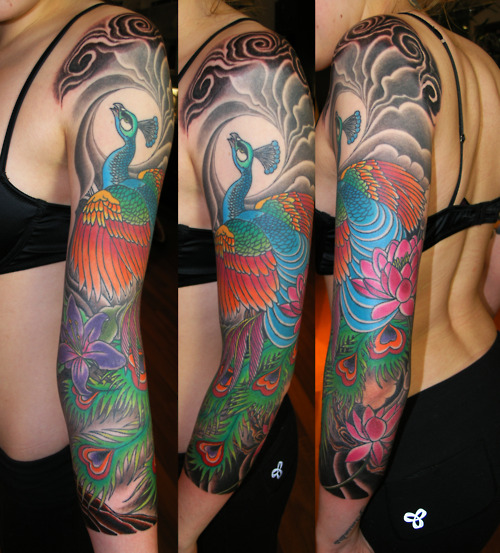 Peacock Tattoo (41)
