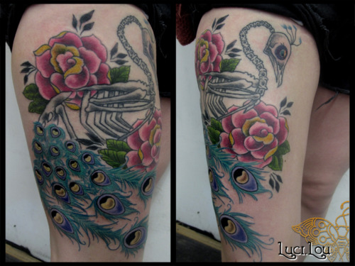 Peacock Tattoo (39)