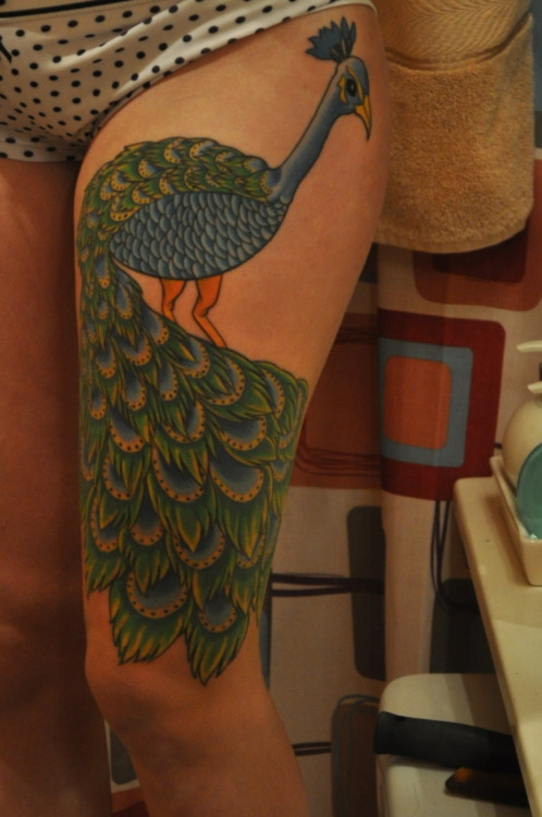 Peacock Tattoo (30)
