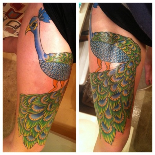 Peacock Tattoo (29)