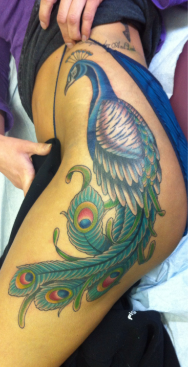 Peacock Tattoo (26)