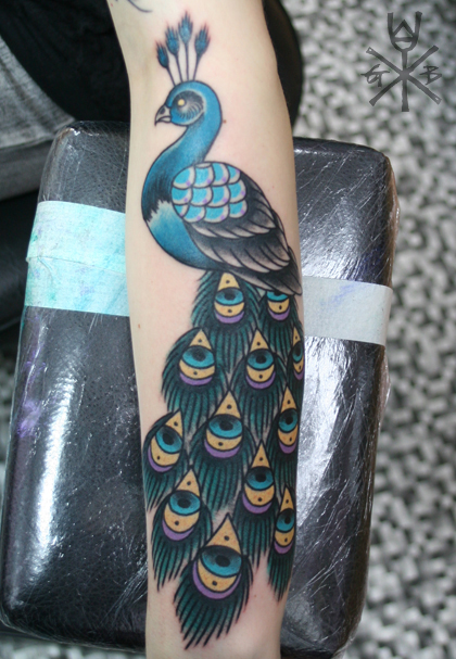 Peacock Tattoo (22)