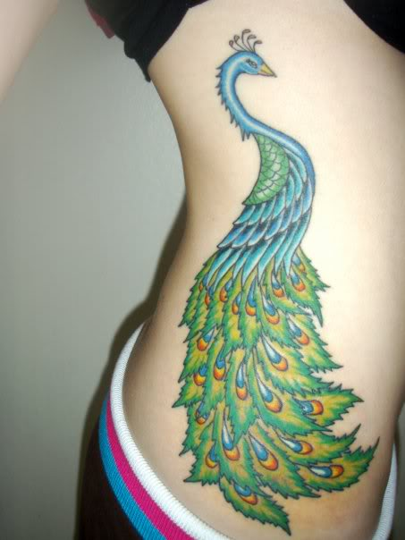 Peacock Tattoo (20)