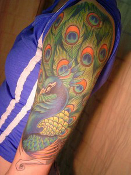 Peacock Tattoo (19)