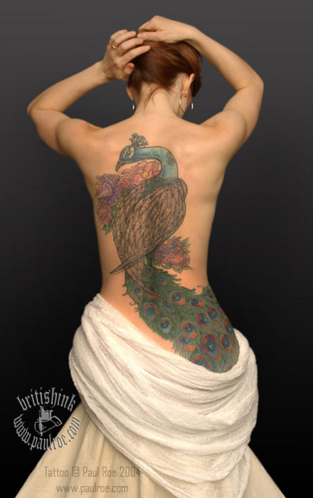 Peacock Tattoo (17)