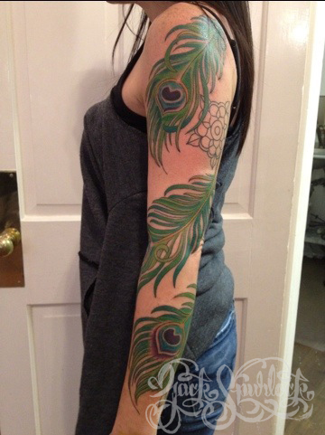Peacock Tattoo (11)