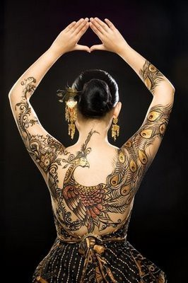 Peacock Tattoo (10)