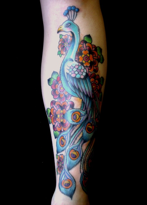 Peacock Tattoo (8)