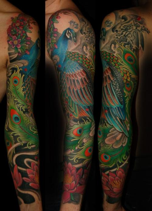 Peacock Tattoo (5)