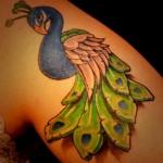 51 Tatuagens de pavões