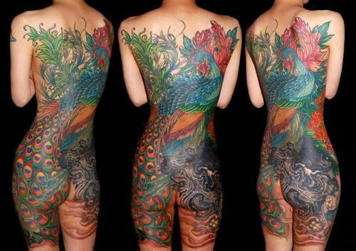 Peacock Tattoo (51)