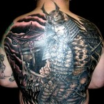 Semana Oriental: 55 Tatuagens de Samurai