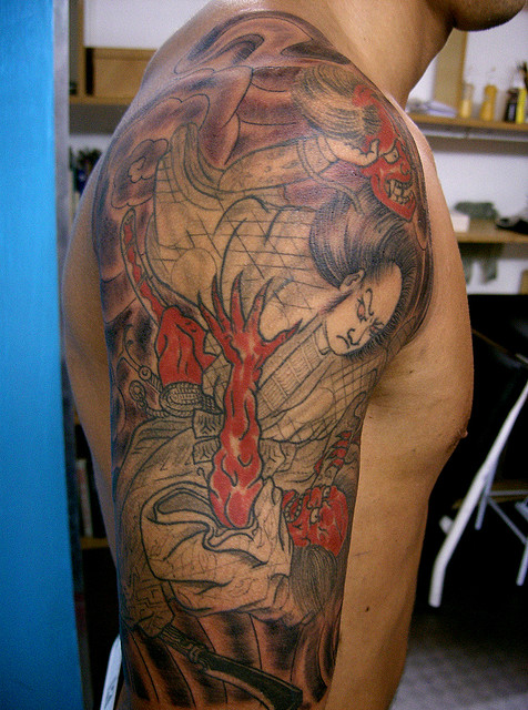 Samurai Tattoos (32)