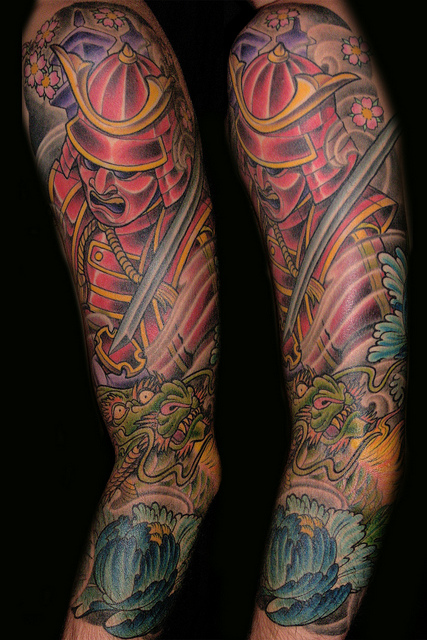 Samurai Tattoos (25)