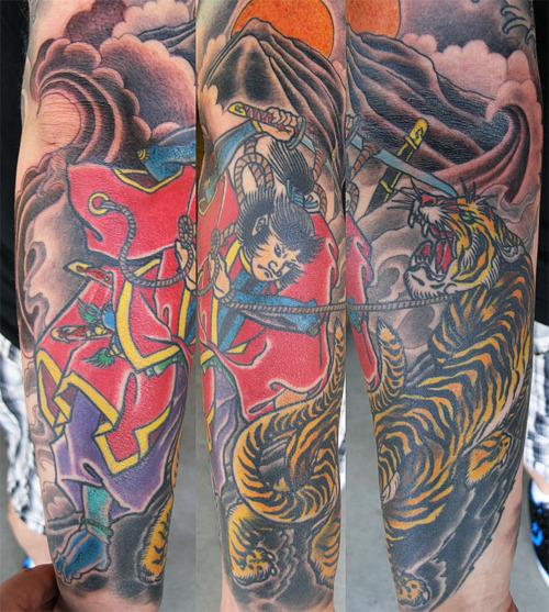 Tiger Tattoos (50)