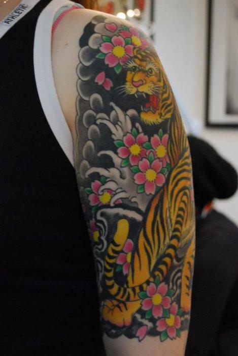 Tiger Tattoos (33)