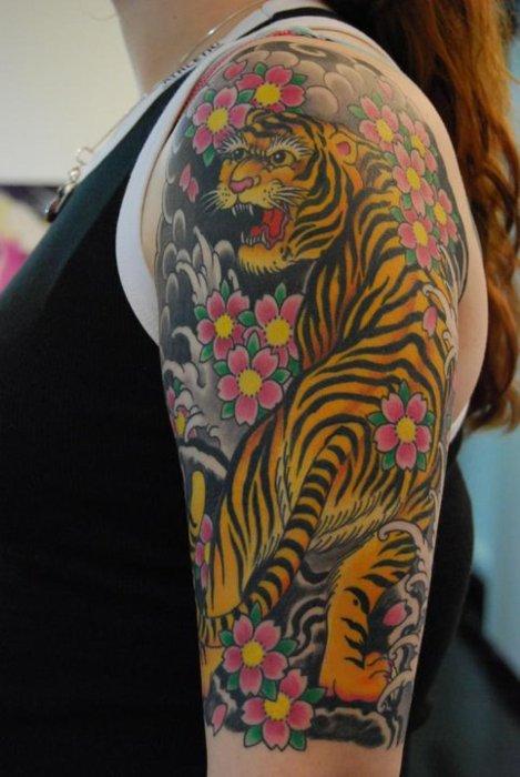Tiger Tattoos (32)