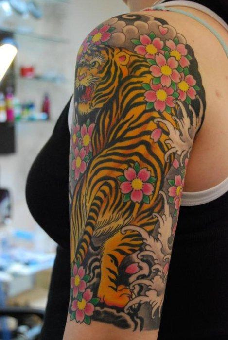 Tiger Tattoos (31)