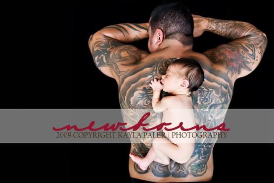 Papais e Mamães Tatuados com seus filhos (1)
