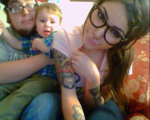 Papais e Mamães Tatuados com seus filhos (86)
