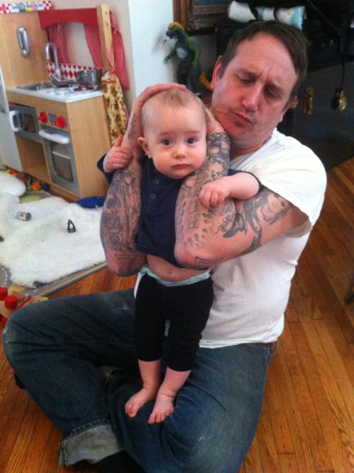 Papais e Mamães Tatuados com seus filhos (68)