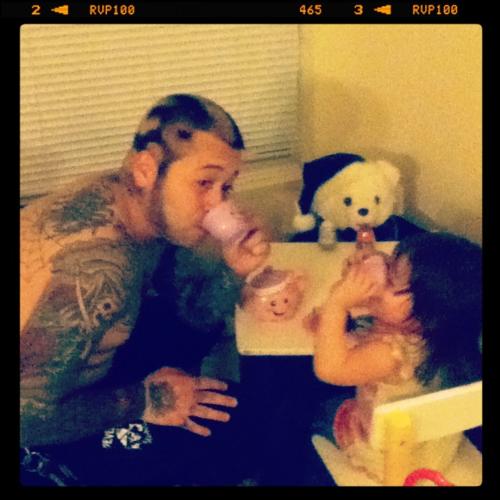 Papais e Mamães Tatuados com seus filhos (54)
