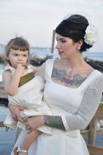 Papais e Mamães Tatuados com seus filhos (25)