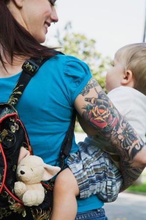 Papais e Mamães Tatuados com seus filhos (20)