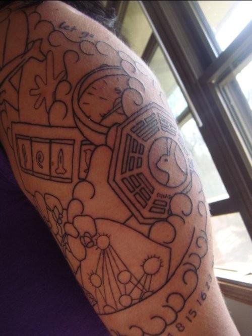 Tatuagens de Lost (9)