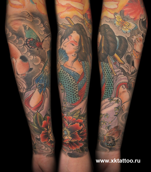 Geisha Tattoo (14)