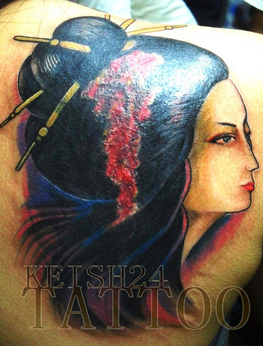 Geisha Tattoo (13)