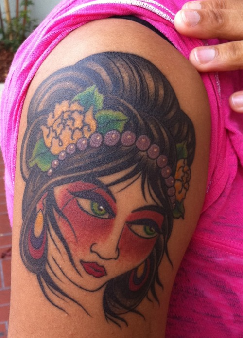 Geisha Tattoo (8)