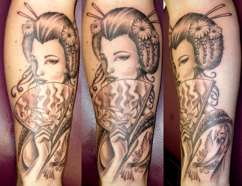 Geisha Tattoo (3)