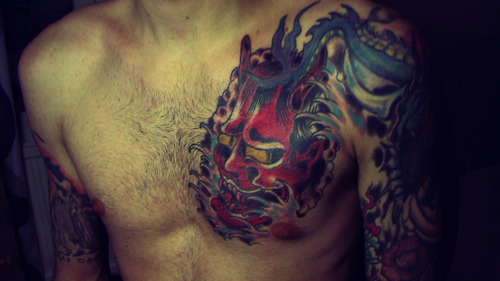 Hannya Mask Tattoo (60)
