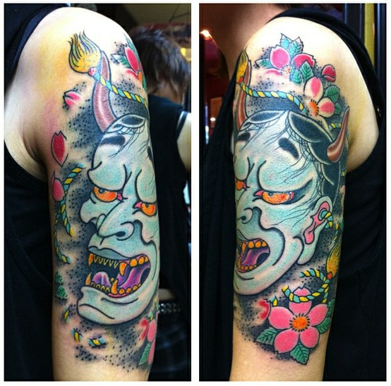 Hannya Mask Tattoo (58)