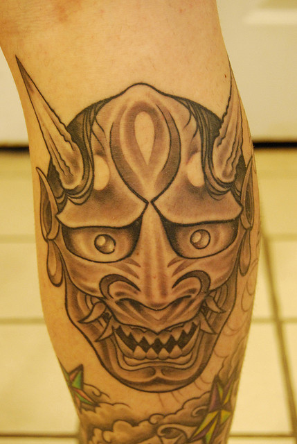 Hannya Mask Tattoo (55)