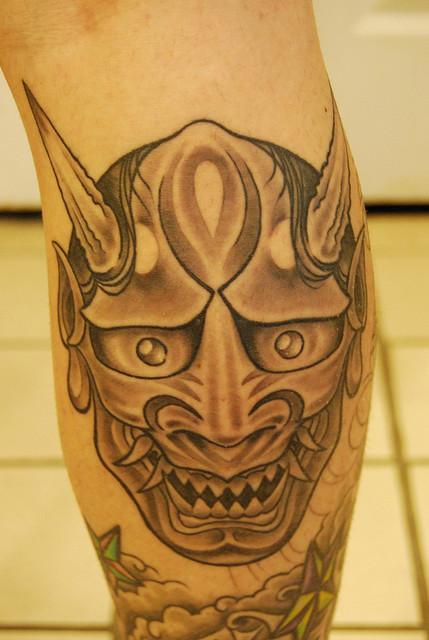 Hannya Mask Tattoo (55)