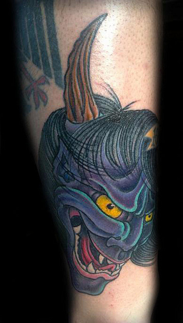 Hannya Mask Tattoo (53)