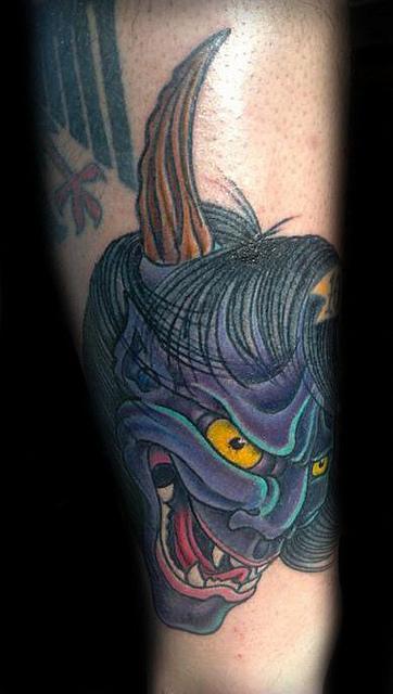 Hannya Mask Tattoo (53)