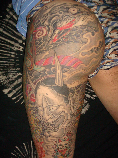 Hannya Mask Tattoo (52)