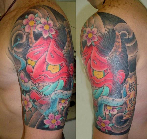 Hannya Mask Tattoo (51)