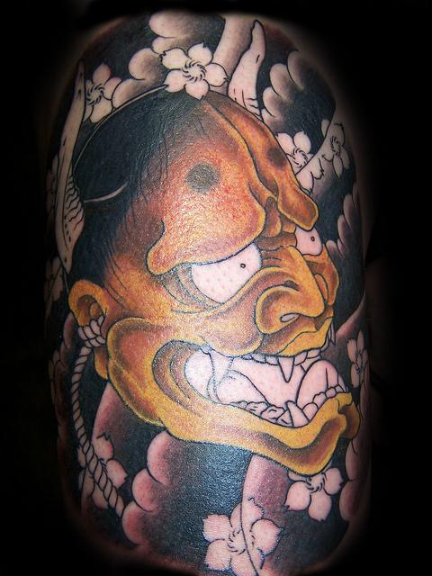 Hannya Mask Tattoo (48)