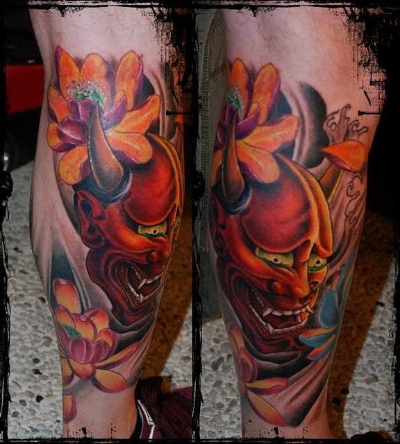 Hannya Mask Tattoo (47)