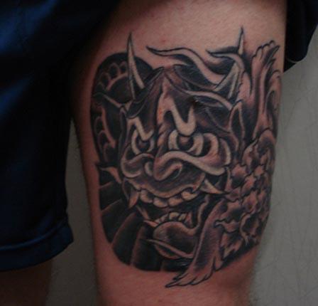 Hannya Mask Tattoo (46)